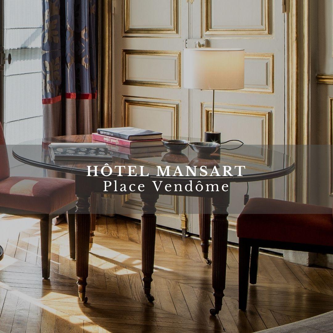 hotel mansart offre télétravail esprit de france
