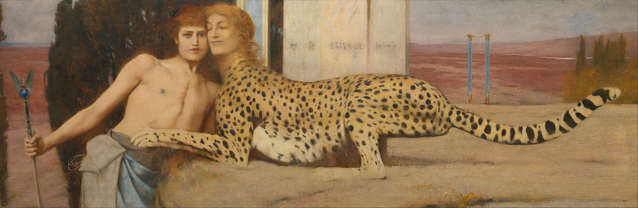 A day in Paris to discover the art of Fernand Khnopff