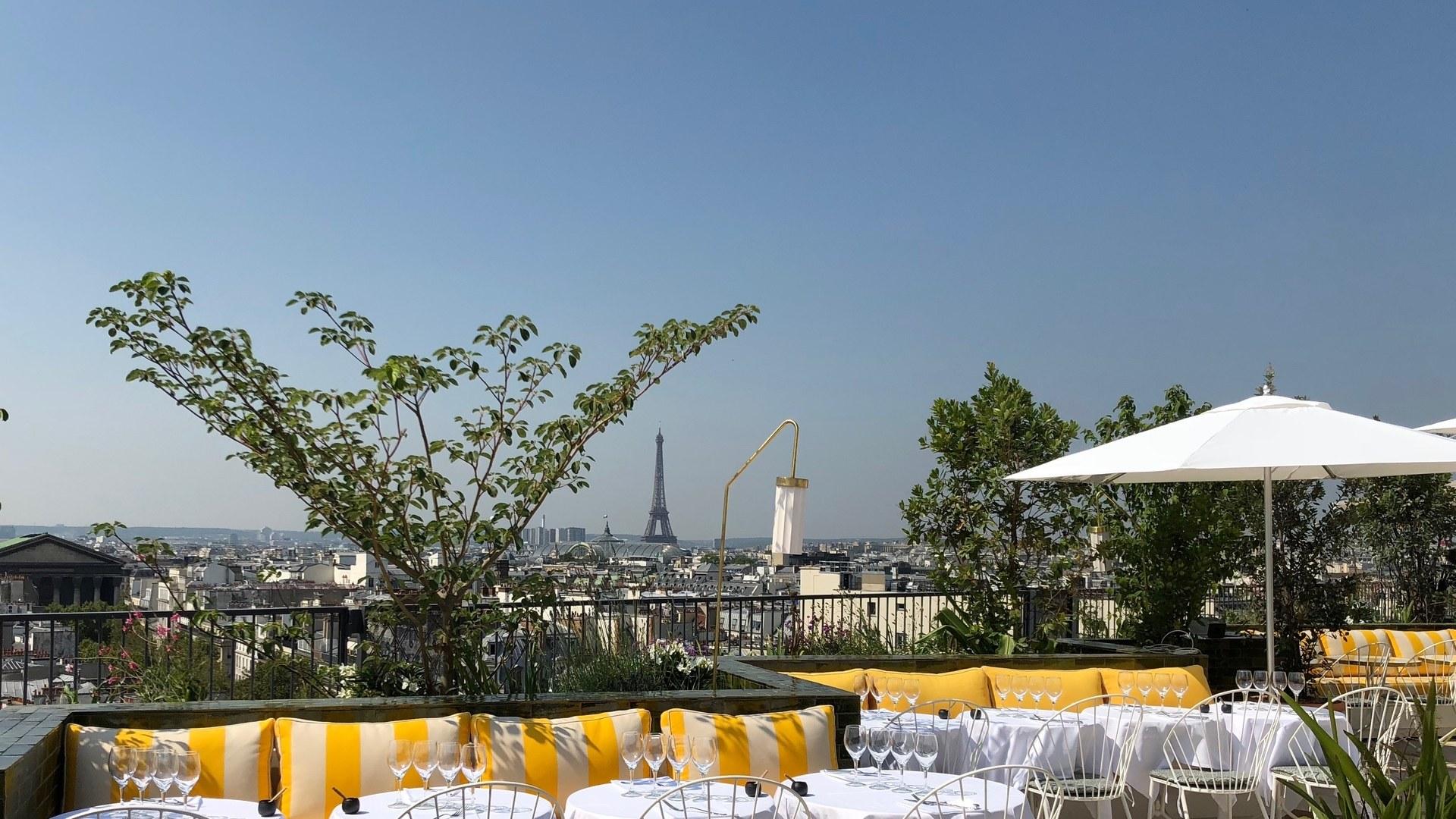 Restaurant Printemps Paris par Esprit de France