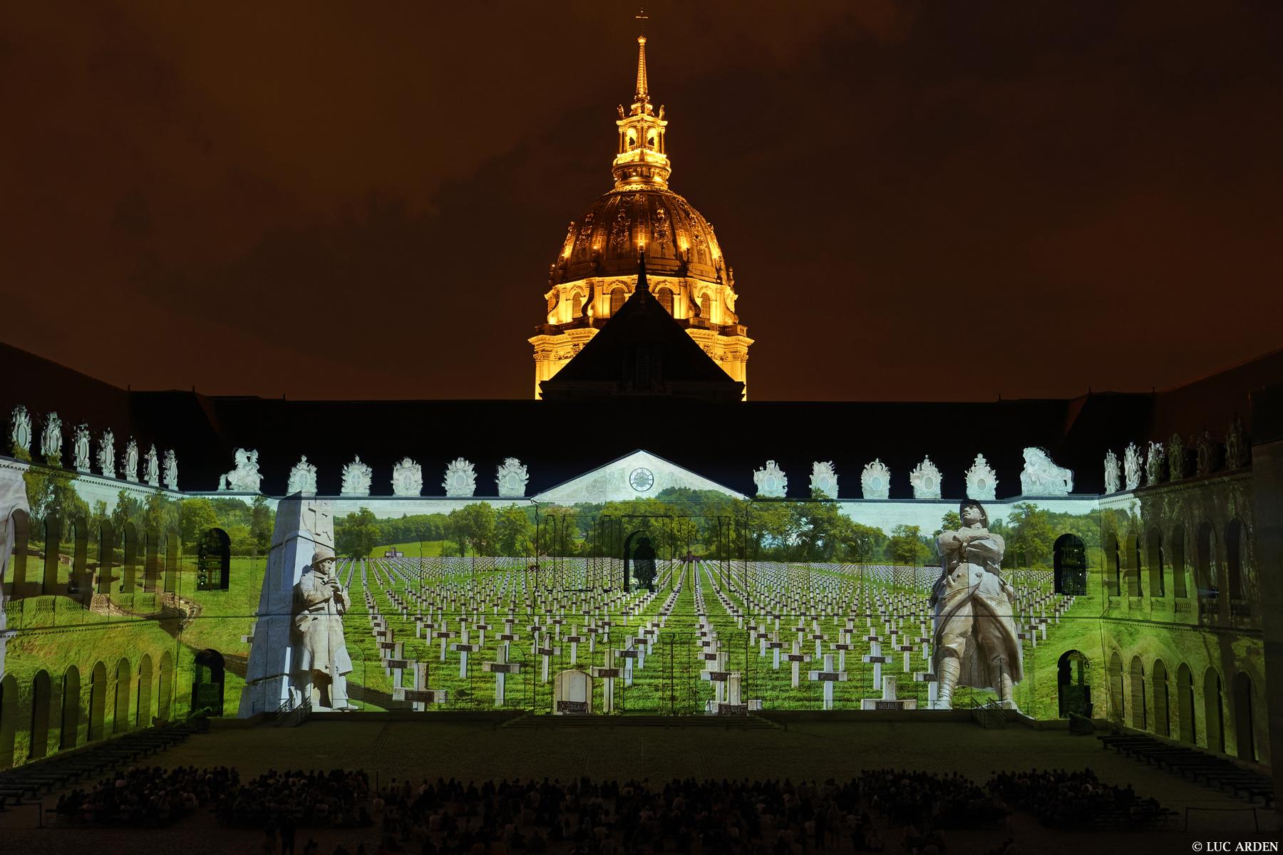 La nuit aux Invalides par Esprit de France