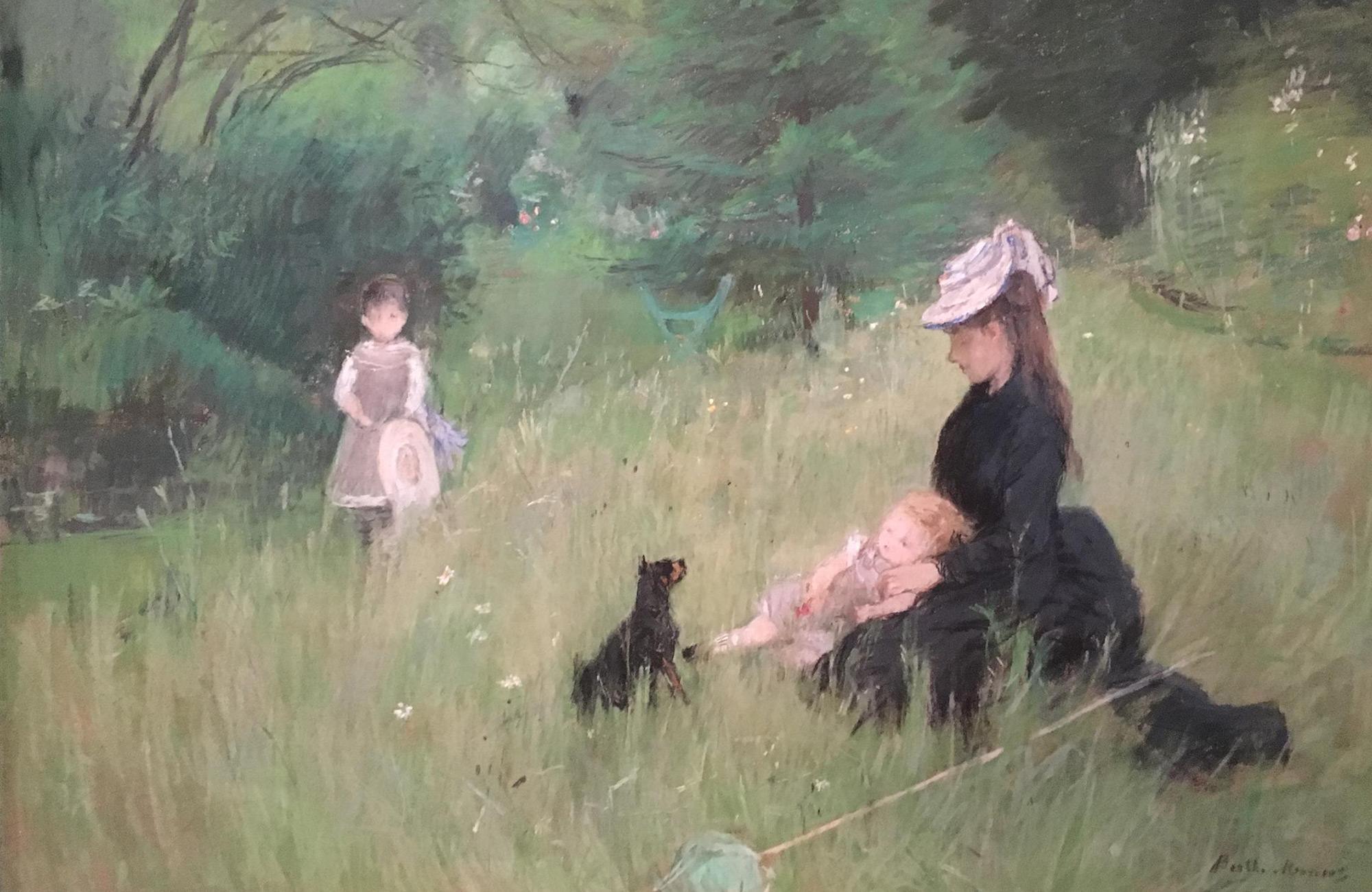 L'impressionnisme au feminin : berthe morisot
