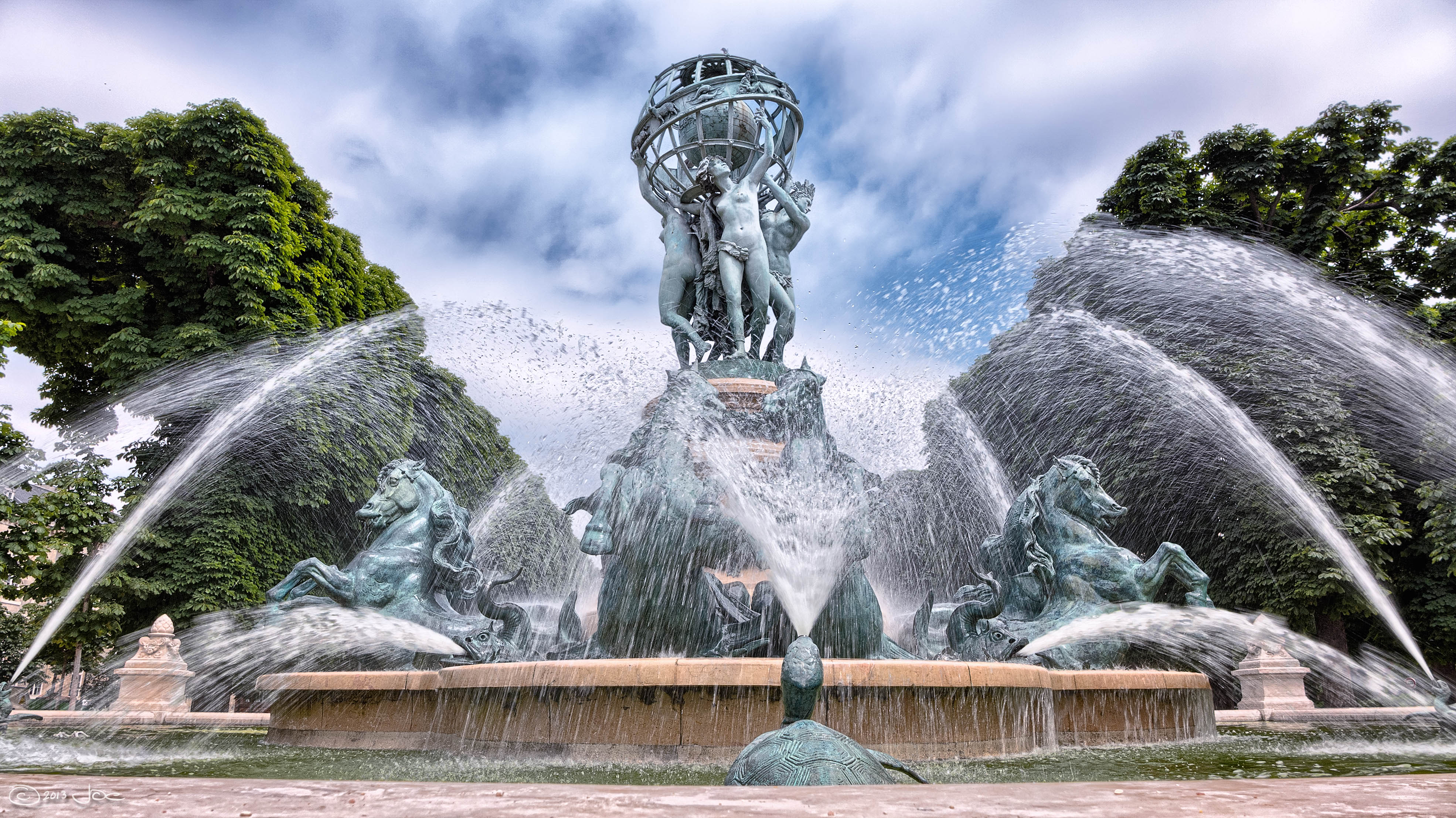 The most impressive Parisian fountains