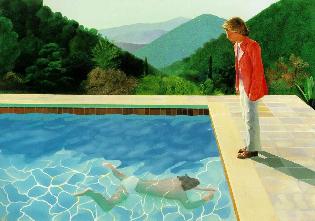 David Hockney par Esprit de France