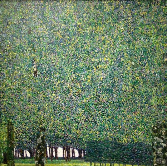 klimt-le-parc-exposition jardins Grand Palais