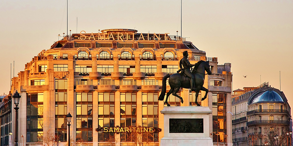 La Samaritaine is the new place to see between the Seine and the Marais !