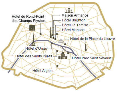4 star hotel collection in Paris