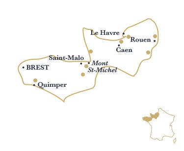 La region Normandie Bretagne par Esprit de France