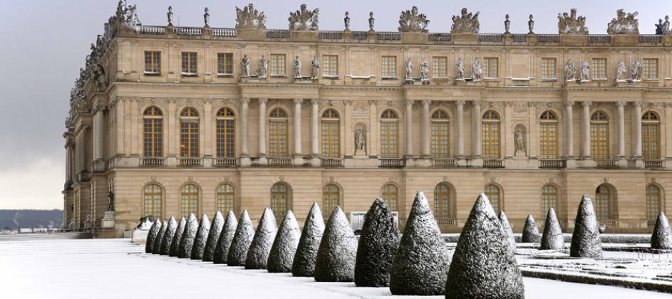 Versailles en hiver par Esprit de France