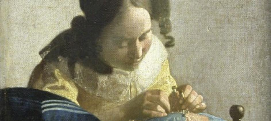 Peinture de Vermeer par Esprit de France