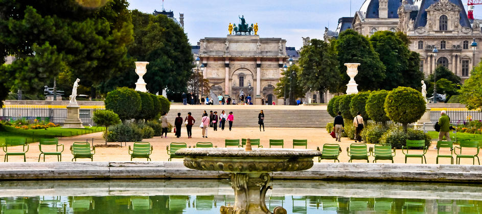 The Tuileries, a garden reflecting the history of Paris