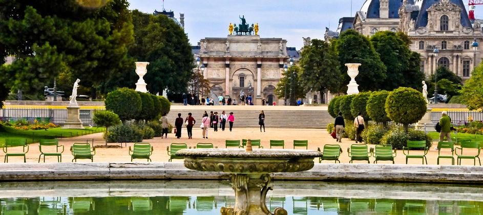 Le jardin des Tuileries par Esprit de France