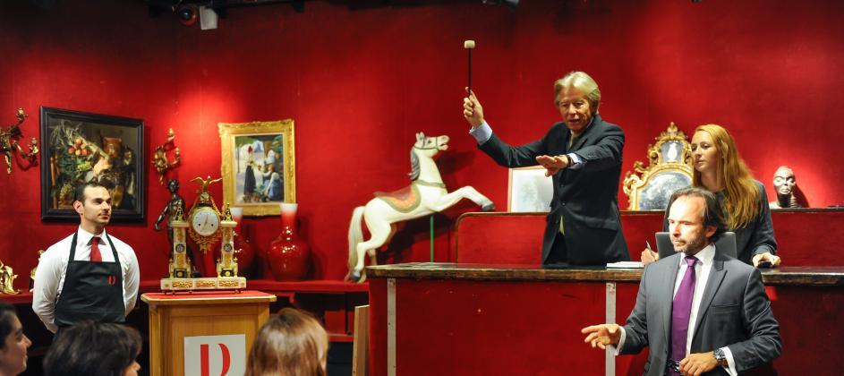 auction house in paris