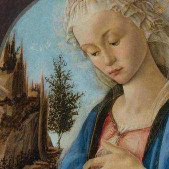 la vierge et l'enfant au musée du Louvre par Esprit de France