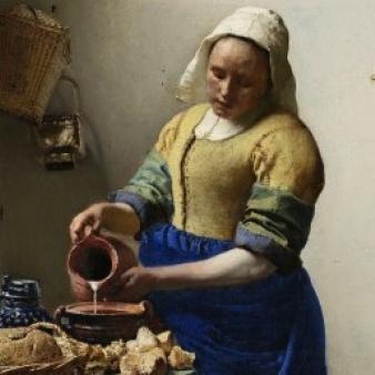 Vermeer painting by esprit de France