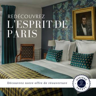 offre de réouverture hôtel Paris
