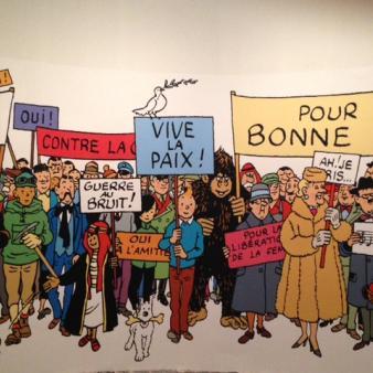 Hergé au Grand Palais par Esprit de France
