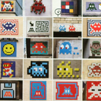 space-invader by Esprit de France