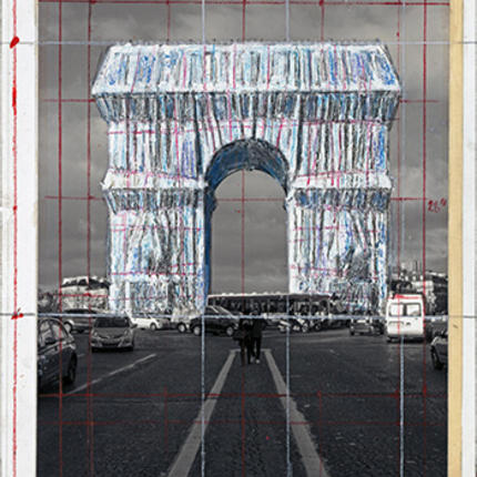 THE ARC DE TRIOMPHE: CHRISTO AND JEANNE-CLAUDE'S ULTIMATE PERFORMANCE