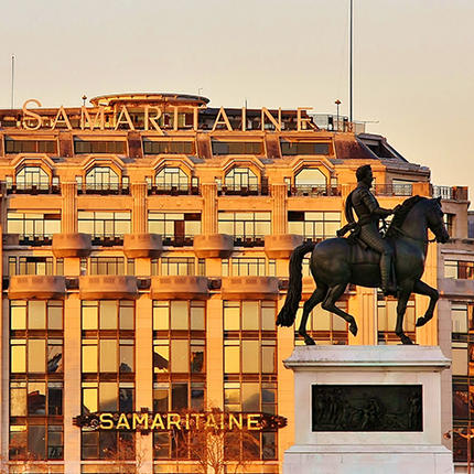 La Samaritaine is the new place to see between the Seine and the Marais