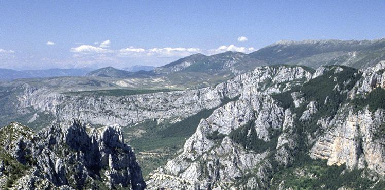 Les gorges du Verdon, proche de la Bastide du Calalou - Esprit de France