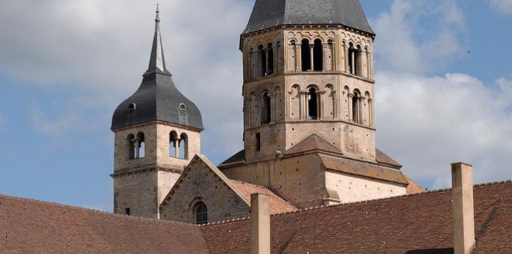 Abbaye de Cluny, proche du Chateau de Pierreclos
