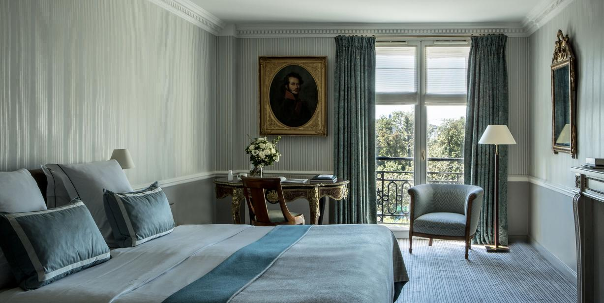 Executive room with a view Hotel Brighton Paris