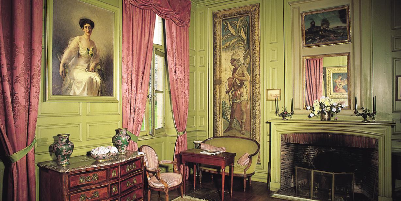 Château d'Urtubie intérieur