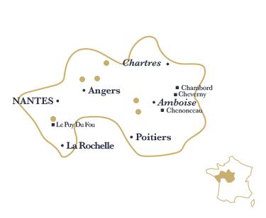 La région Val-de-Loire Centre par Esprit de France